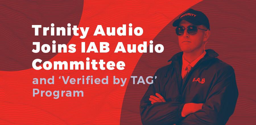 IAB Audio Committee press release header